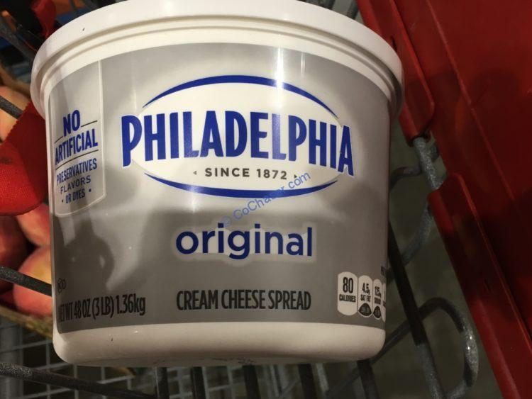 Philadephia Soft Cream Cheese 3 Pound TUB