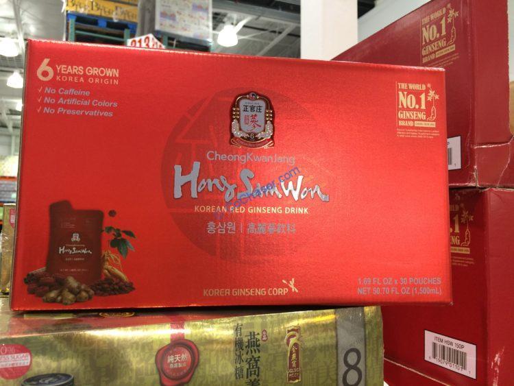 Hong Sam Won Red Ginseng Drink 30/1.69 Ounce