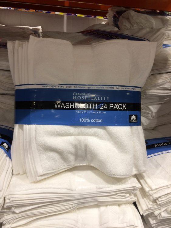 Grandeur Hospitality WashCloth 24 Pack 13 in x 13 in