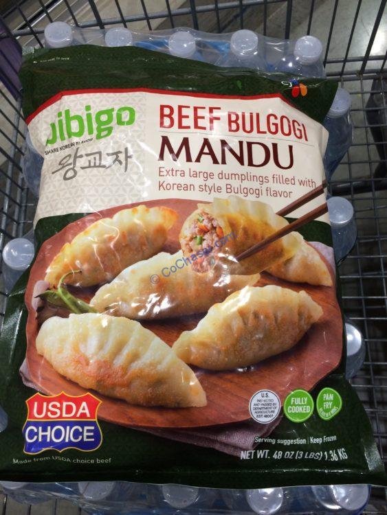 Bibigo Beef Mandu Dumpling 3 Pound Bag