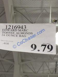 Costco-1216943-Edward-MARC-Toffee-Almonds-tag