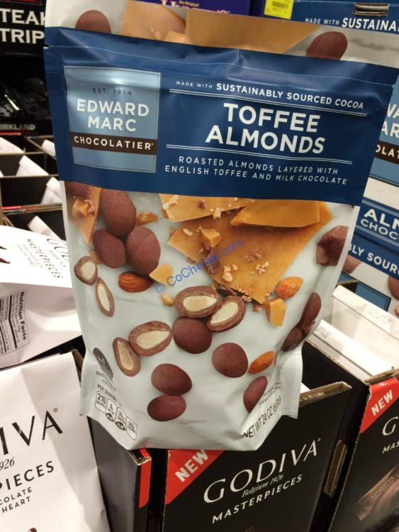 Edward MARC Toffee Almonds 24 Ounce Bag