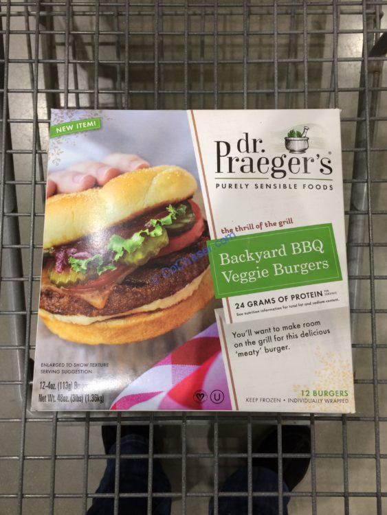 Dr. Praeger's Backyard BBQ Burger 12 Count Box