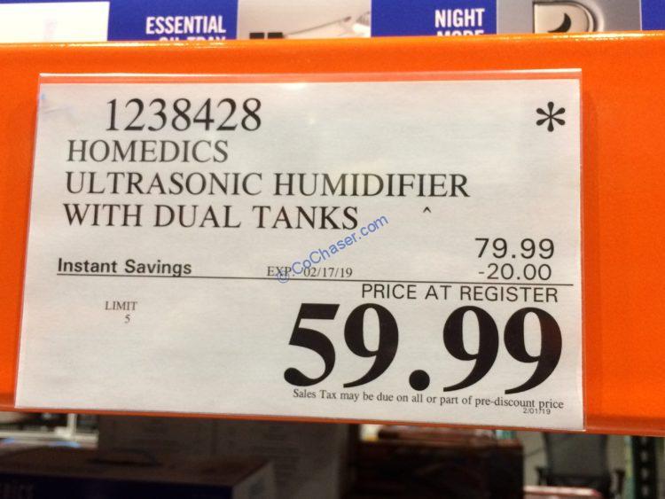 Costco-1238428- HoMedics-Ultrasonic-Humidifier-tag1
