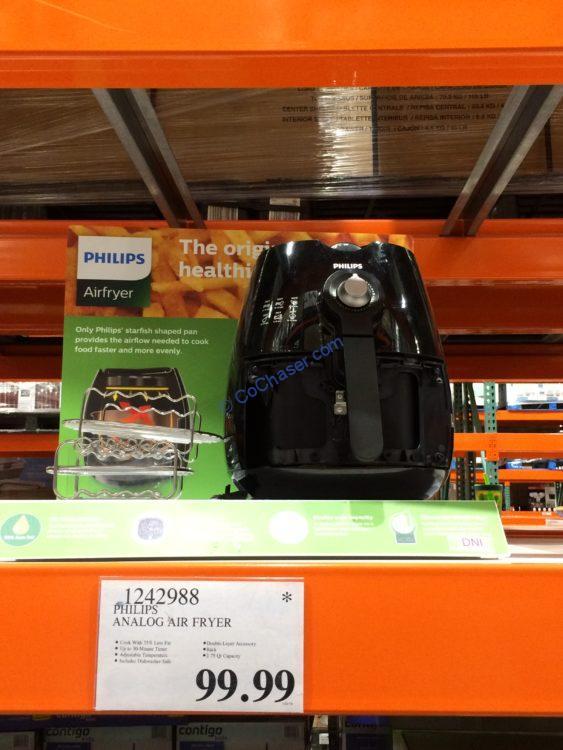 Philips Analog Air Fryer, Model l# HD9226/23
