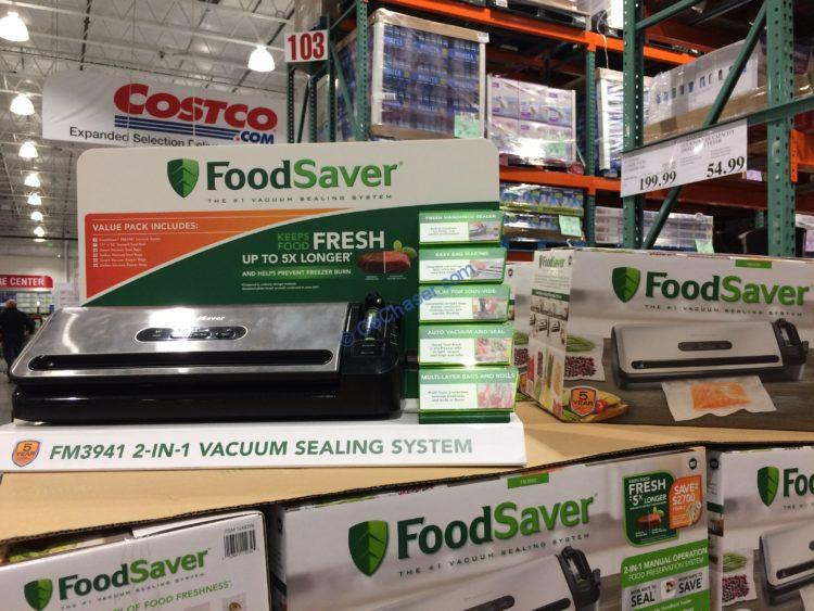 Costco-1248298-FoodSave- 2-in-1-Vacuum-Sealing-System