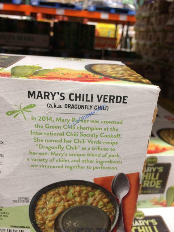 Costco 1273084 Hormel Personal Recipe Marys Chili Verde Part Costcochaser