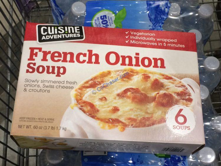 Cuisine Adventures French Onion Soup 6/10 Ounce Servings