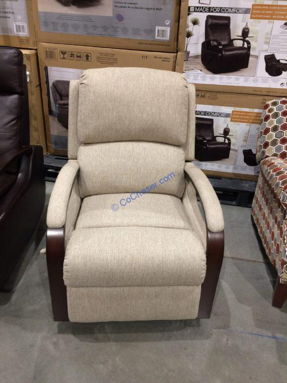 Synergy Home Fabric Swivel Recliner