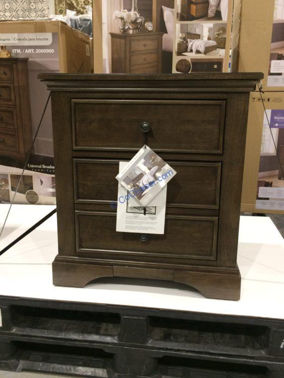 Costco-1900065-Universal-Broadmoore-Nightstand-with-Powder