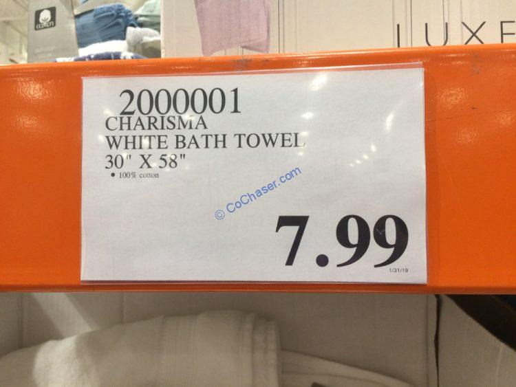 Costco-2000001-Charisma-Bath-towel-tag