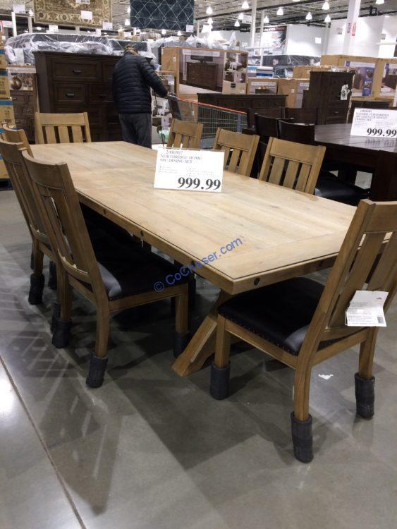 Costco-2000307-Northridge-Home-9PC-Dining-Set
