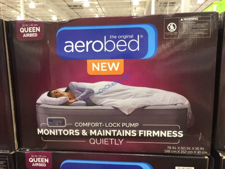 Aerobed Comfort Lock Queen Airbed Costcochaser