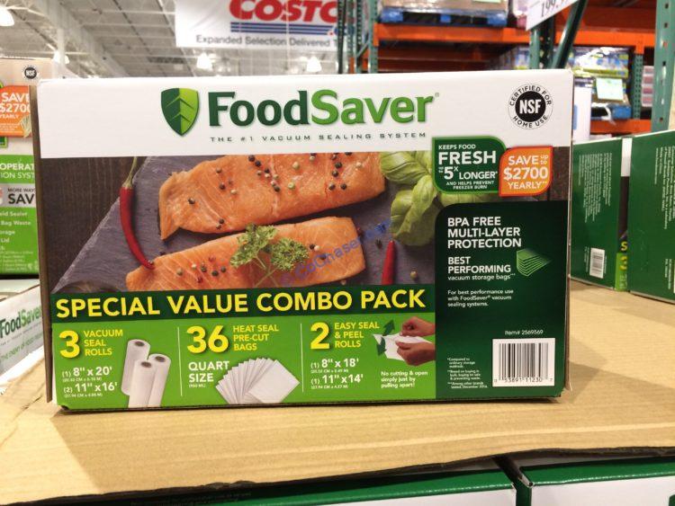 FoodSaver Bag COMB Rolls & Precut Bags