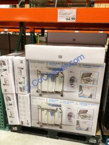 Costco-579772-Seville-3Bag-laundry-Sorter-with-Folding-Table-all
