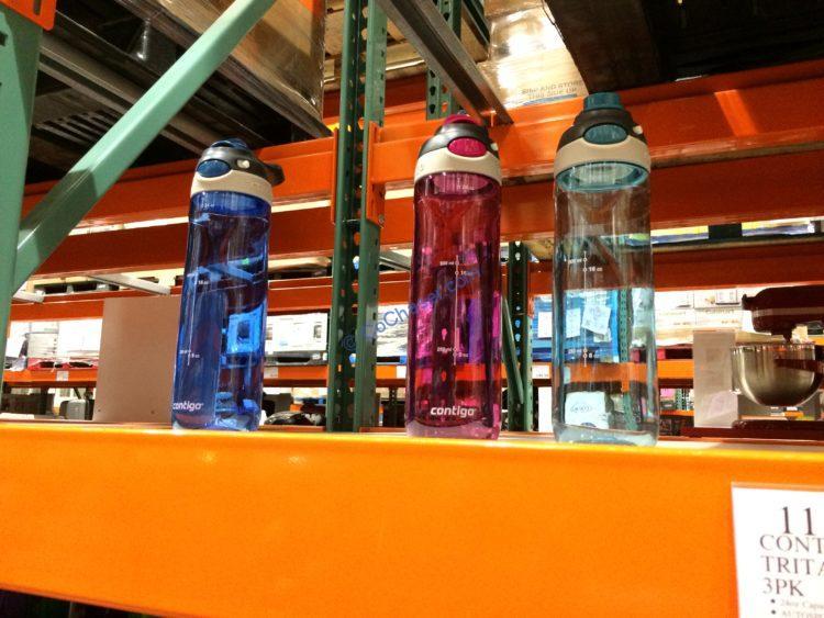 Contigo Tritan Water Bottle, 3PK