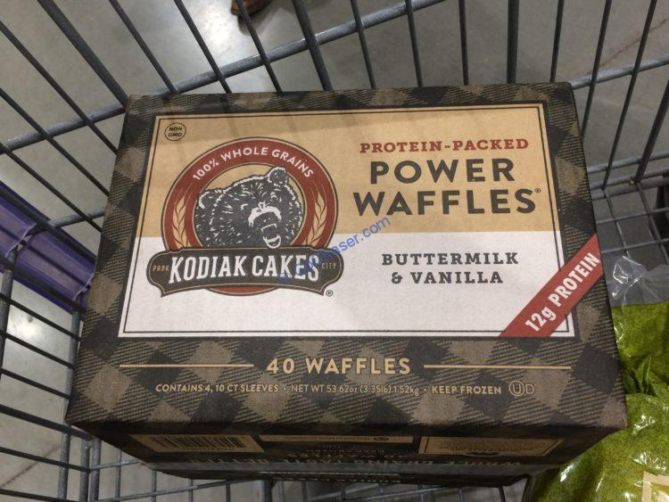 Kodiak Cakes Power Waffles 40 Count Box \u2013 CostcoChaser