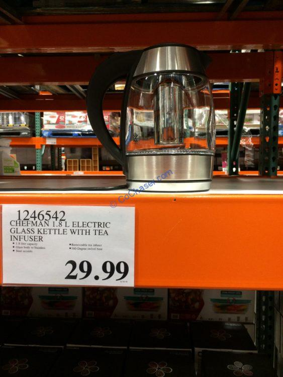 Costco-1246542-Chefman-Electric-Glass-Kettle-with-Tea–Infuser