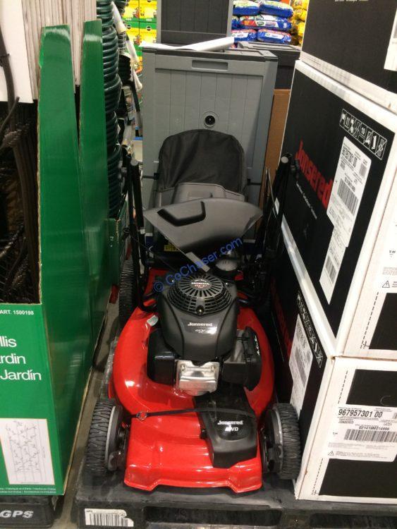 "Jonsered 21"" AWD Self Propelled Mower Powered by Honda"