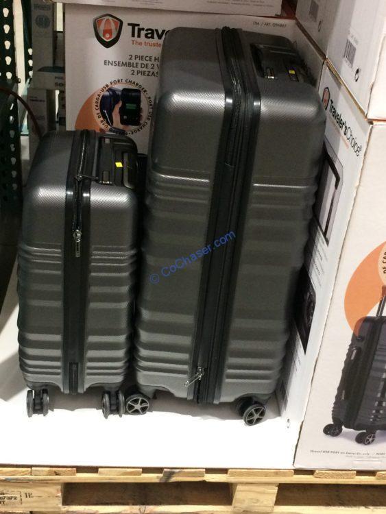 Traveler's Choice Pomona 2-piece Hardside Set