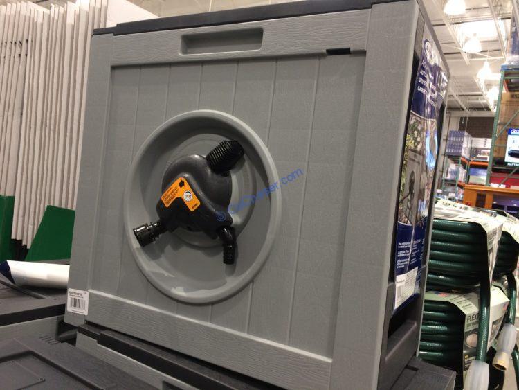 Suncast Hose Reel Hydro Powered Rewind Costcochaser