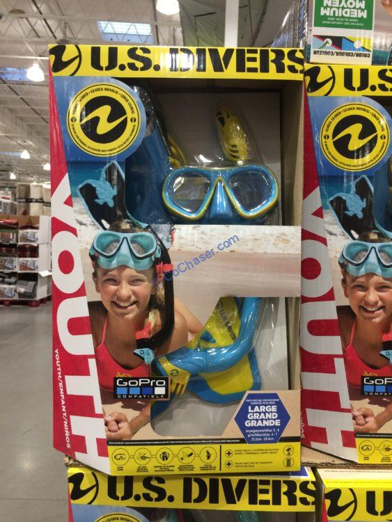 US Divers Youth Snorkel Set
