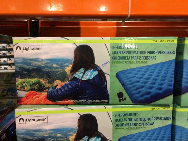 Lightspeed Outdoors 2 Person TPU Airbed