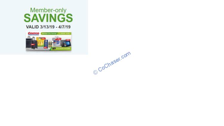 Costco Coupon Book: March 13 – April 07, 2019