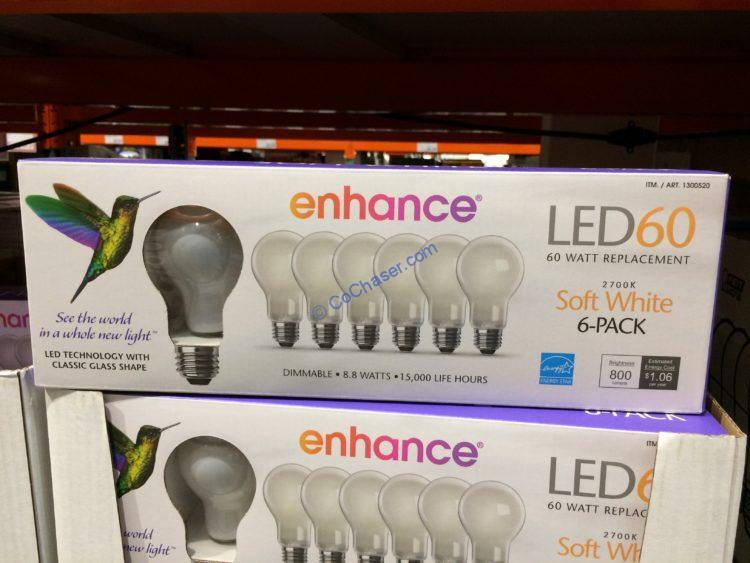 Feit Electric LED 60W Replacement 6 Pack Soft White