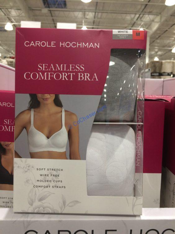 Carole Hochman Ladies' Wireless Comfort Bra, 2-pack