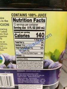 Costco-1150336-Kirkland –Signature-Concord-Grape-Juice-chart