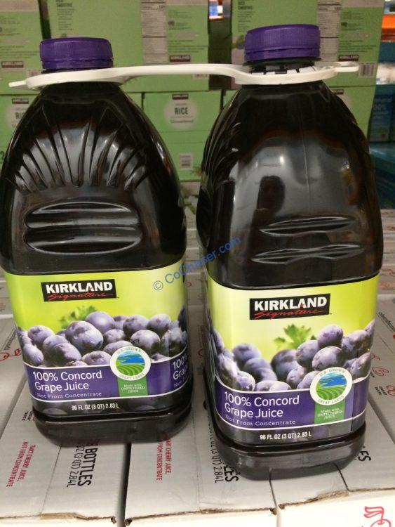 Kirkland Signature Concord Grape Juice 2/96 Ounce Bottles