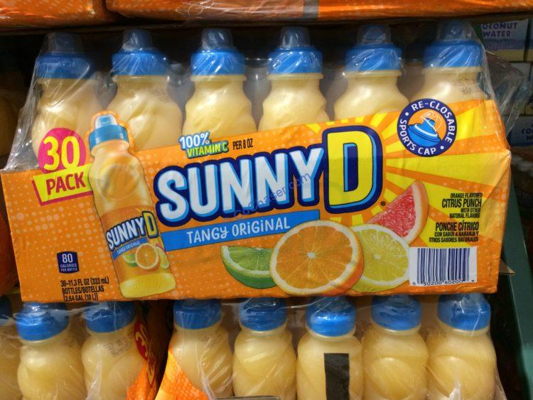 Sunny Delight Sports Cap 24/11.3 Ounce Bottles