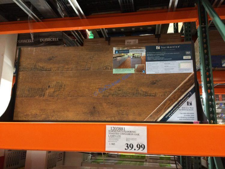 Harmonics Flooring Toasted Cinnamon Oak, Harmonics Laminate Flooring
