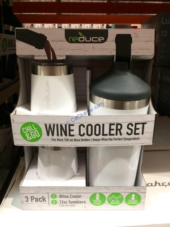 Reduce Wine Cooler Set 3PC