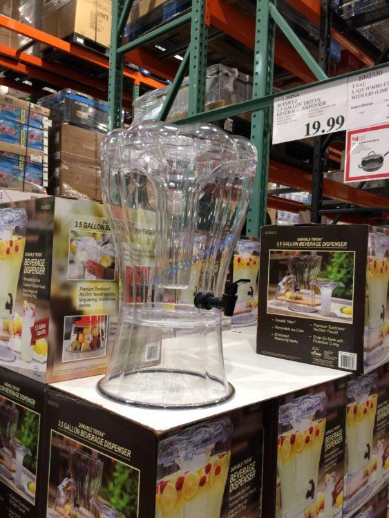 Costco-1264544-Buddeez-3.5Gallon-Tritan-Beverage-Dispenser