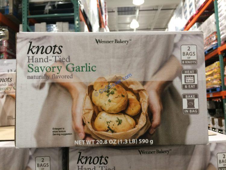 Wenner Bakery Garlic Knot Rolls