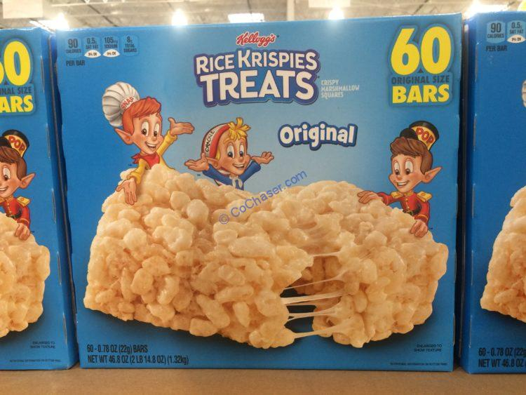 Kellogg's Rice Krispies Treats 60 Count Box