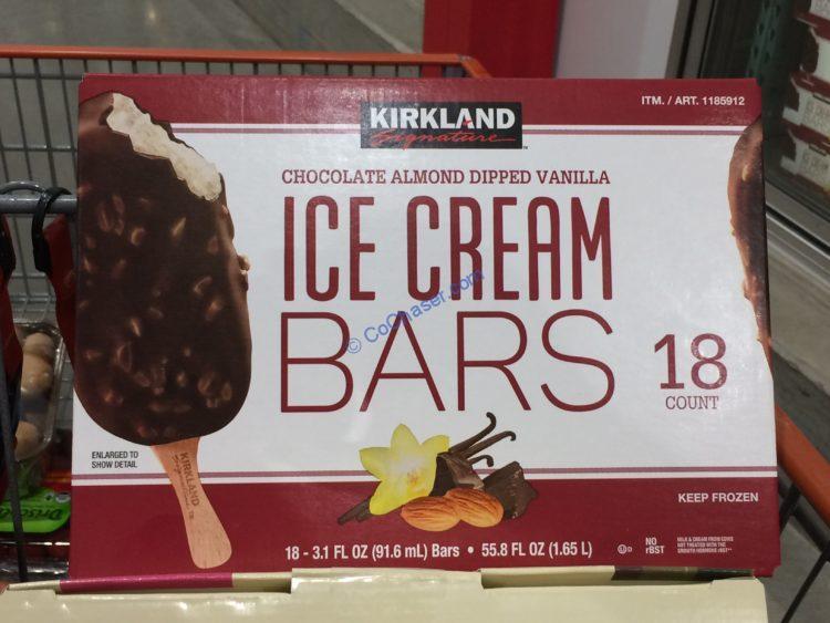 Kirkland Signature Ice Cream Bar 18 Count Box