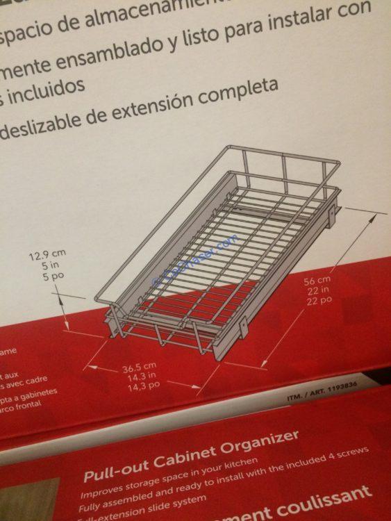 Cabinet Sliding Basket2 Costcochaser