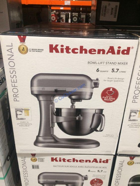 KitchenAid Professional Series 6 Quart Bowl Lift Mixer, Model#KP26M9PCCU