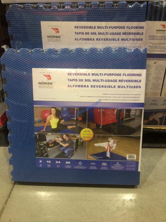 Norsk Reversible Foam Flooring