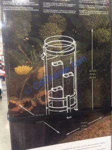 Costco-1900695-Outdoor-Lantern-with-LED-Candles-size