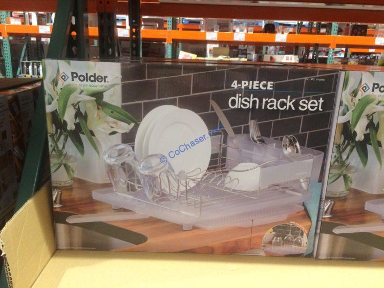 Polder Stainless Steel Dish Rack