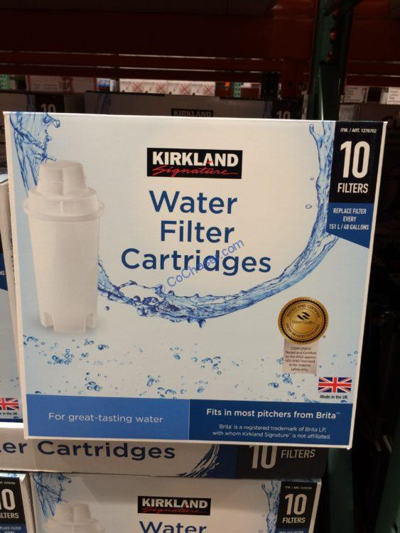 Kirkland Signature Water Filter Cartridge 10 Pack