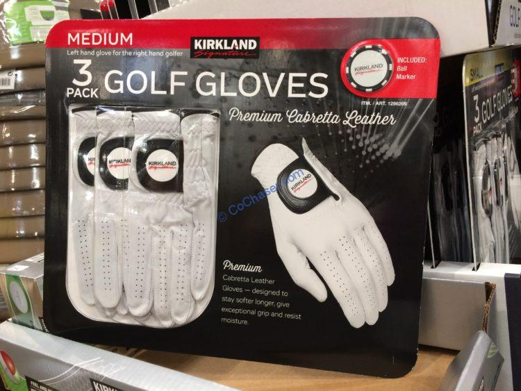 Kirkland Signature Golf Gloves 3 Pack