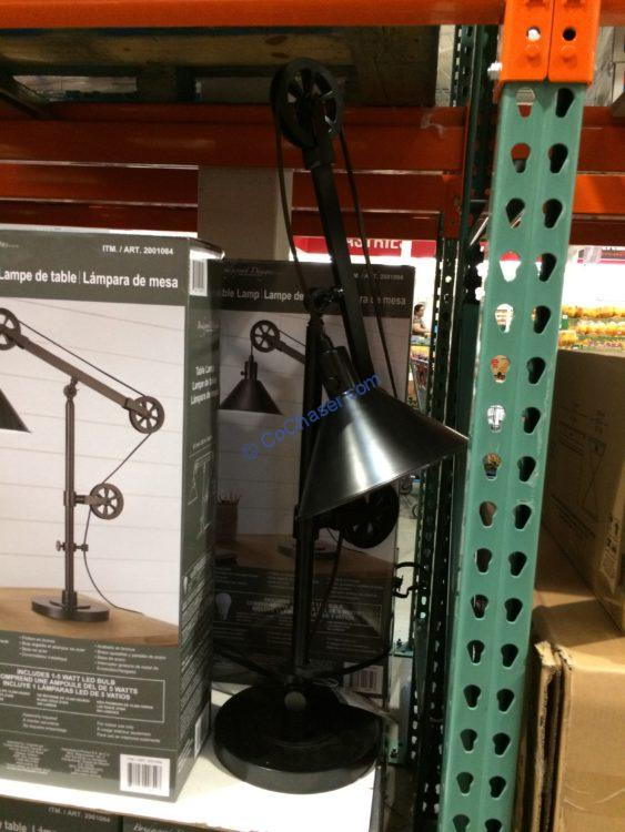 Bridgeport Designs Pulley Table Lamp