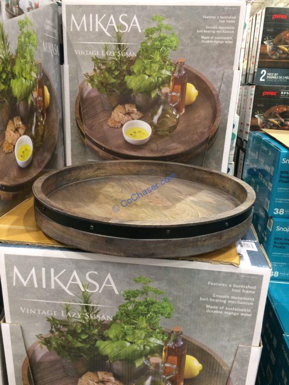 Mikasa Wood And Iron Lazy Susan Costcochaser