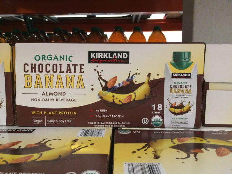 Kirkland Signature Organic Chocolate Banana 18/8.25 Ounce