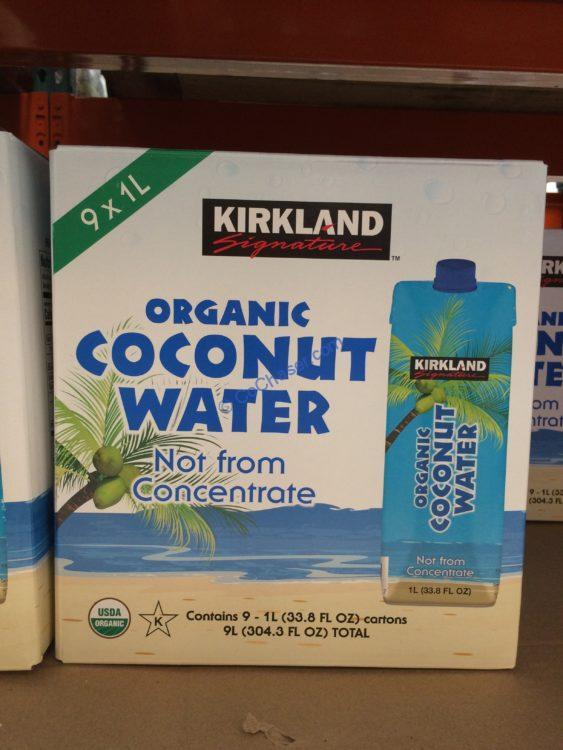 Kirkland Signature Coconut Water 9/1 Liter